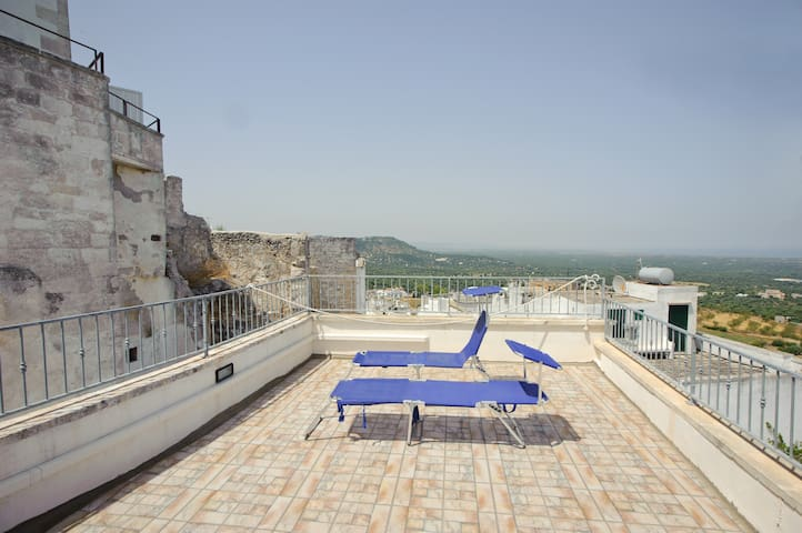 OSTUNI BIG 1BFLAT WITH HUGE TERRACE