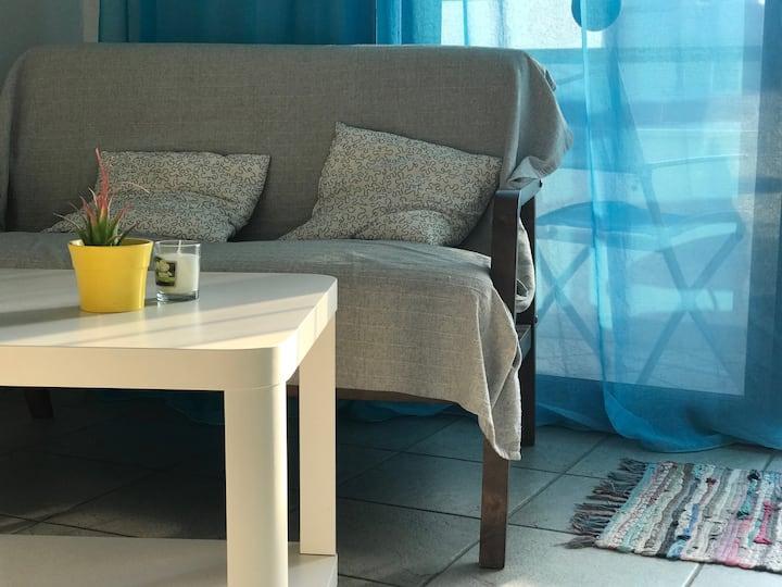 Krasas Beach - 1 bedroom Apt with City View