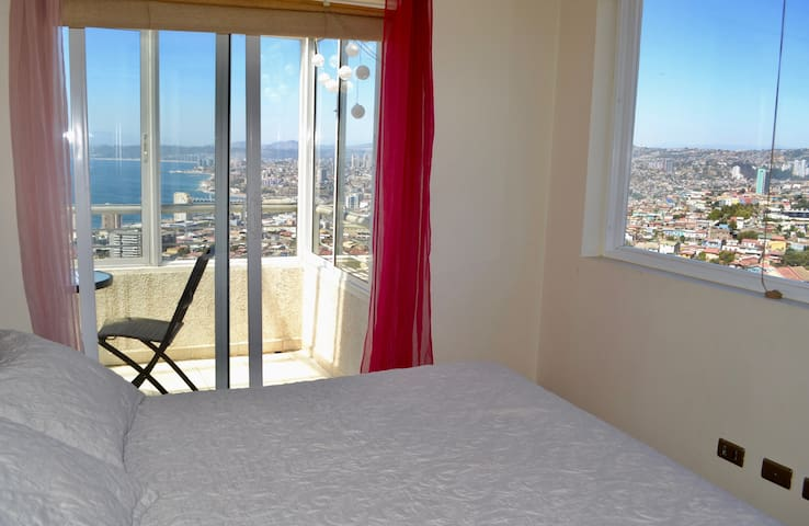 The Valparaiso Lookout - Valparaíso - Apartment