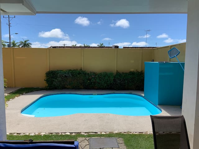 Casa de Playa en condominio y piscina privada #208