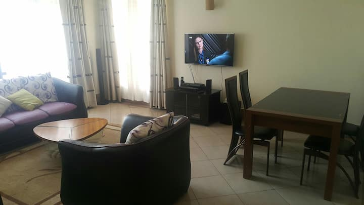 Furnished apartment close to Two rivers mall