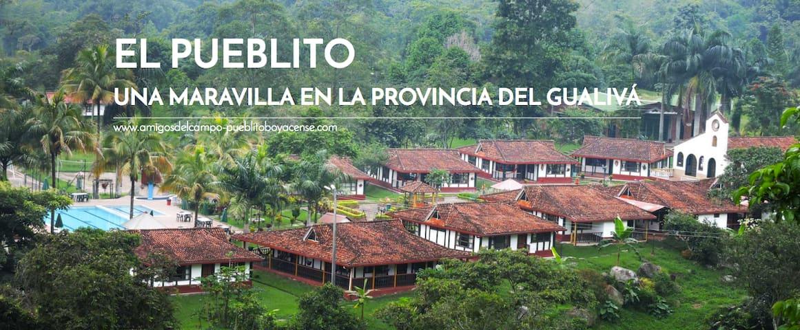 Cabañas en El pueblito, amigos del campo - Sasaima - Hotel ekologiczny