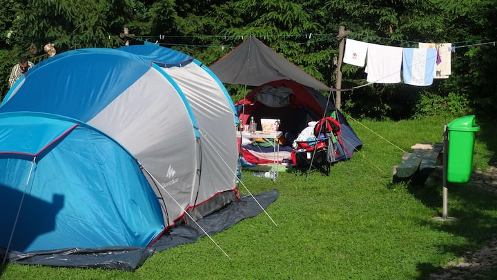 Camping Edelweiss - with your own tent