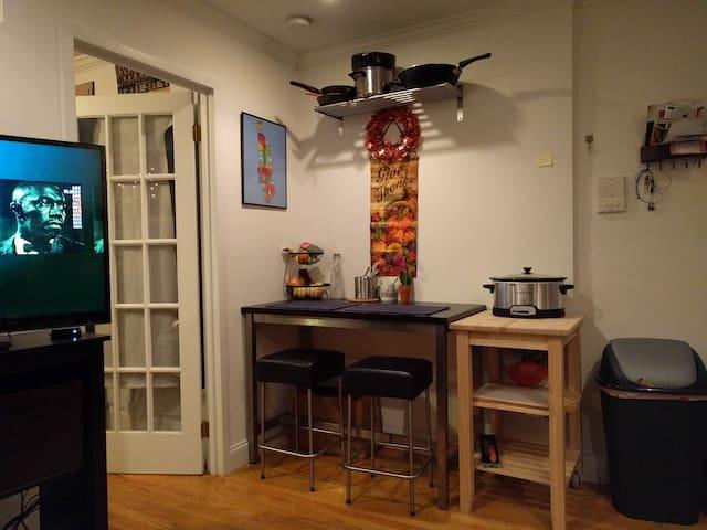 Cozy 1 bedroom in prime East Village/LES location - New York - Flat