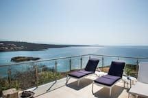 Enjoy unobstructed sea views to the Akrotiri peninsula