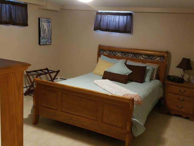 Cozy Basement Apartment-Stoneham