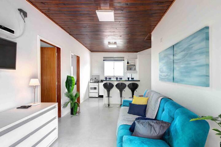 Confortável loft na Lagoa da Conceição