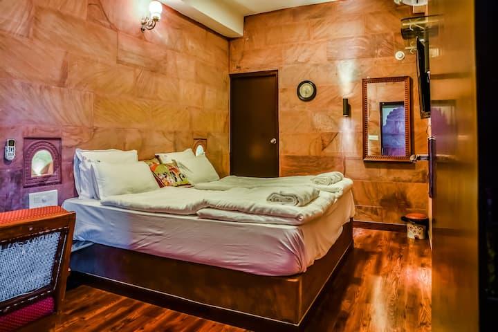 Beautiful Stone Room with modern amenities
