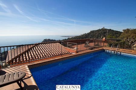 Modern villa in Blanes for 12 guests, with views of the Mediterranean Sea! - Costa Brava
