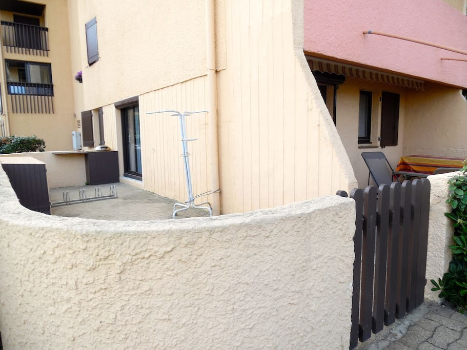 terrasse nord-ouest 23m2