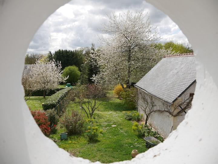 Maison avec jardin au coeur du Val de Loire