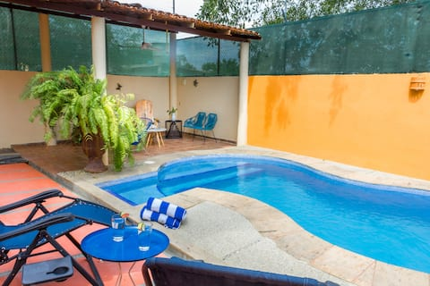 Casa el Kora a/a WiFi Pool 5 blocks to the beach