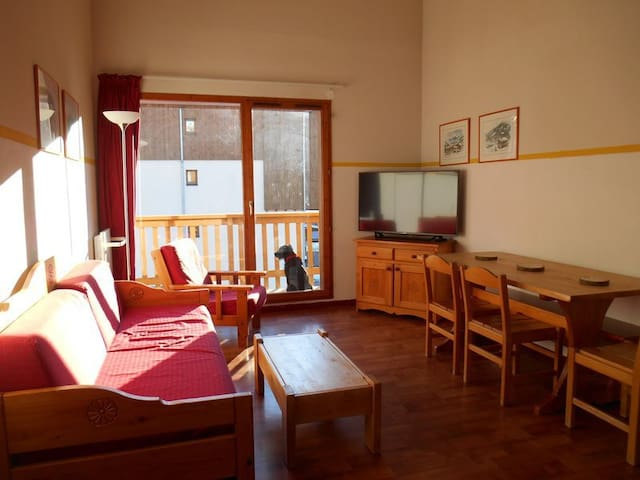 Nicely renovated apartement 3 rooms 6/7 persons 45m²