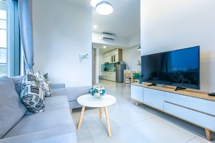 ❤️BIG PROMO! luxury 2 bedrooms apt Bitexco view
