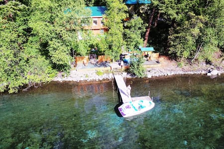6 bedroom house on Gun Lake with dock & kayaks - Squamish-Lillooet A - Cabanya