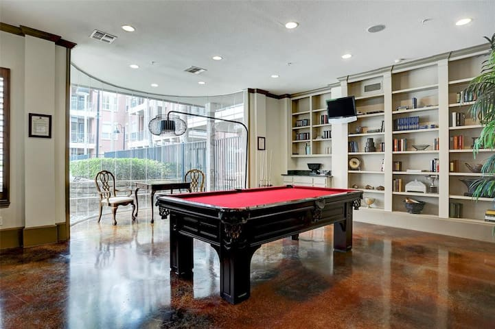 Game room in the club room