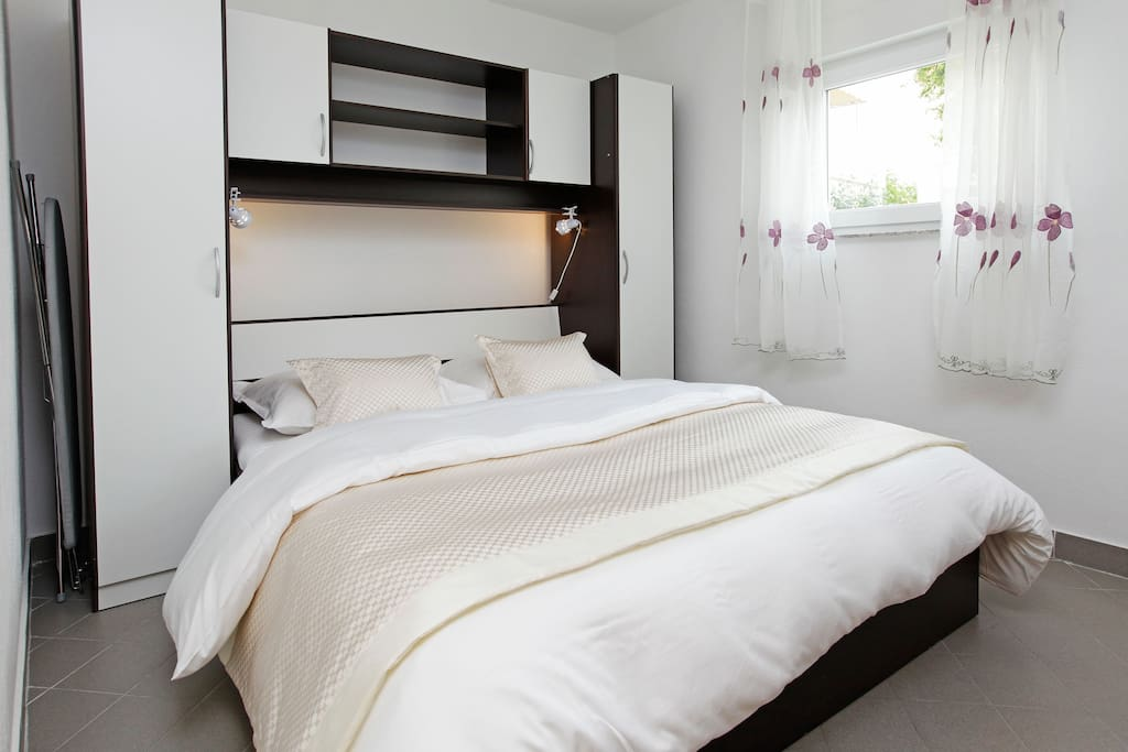 Bedroom 1 with comfy double bed