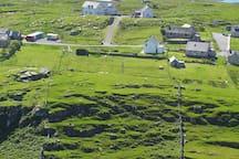 Ceann Bodaich between the loch and the sea