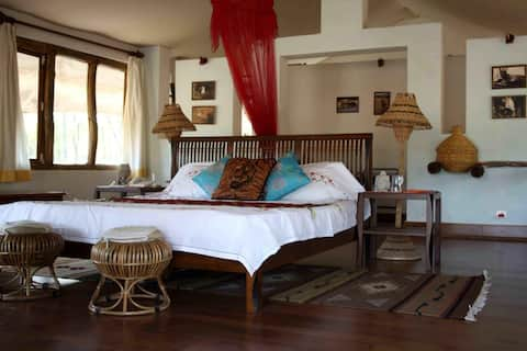 Atulya Kanchi Camp Bandhavgarh National Park Private Cottage 4