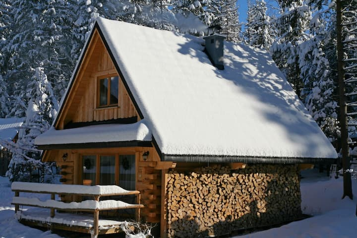 Leśny Domek Buczynowy w Tatrach