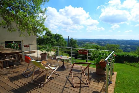 Atypical and quiet house, close to Lyon - Couzon-au-Mont-d'Or - Hus