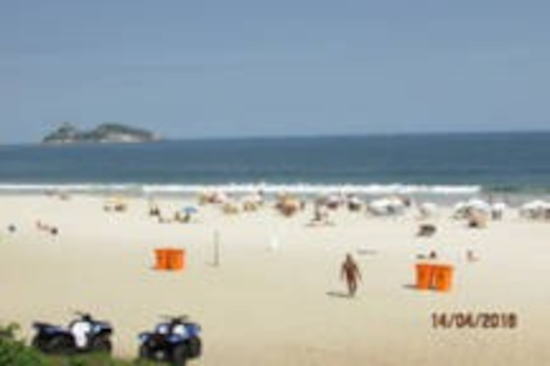 Ponto da praia, posto 4 Barra