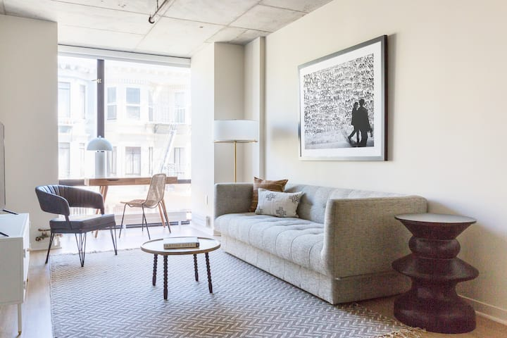 Sonder | Duboce Apartments | Calm 1BR + Rooftop