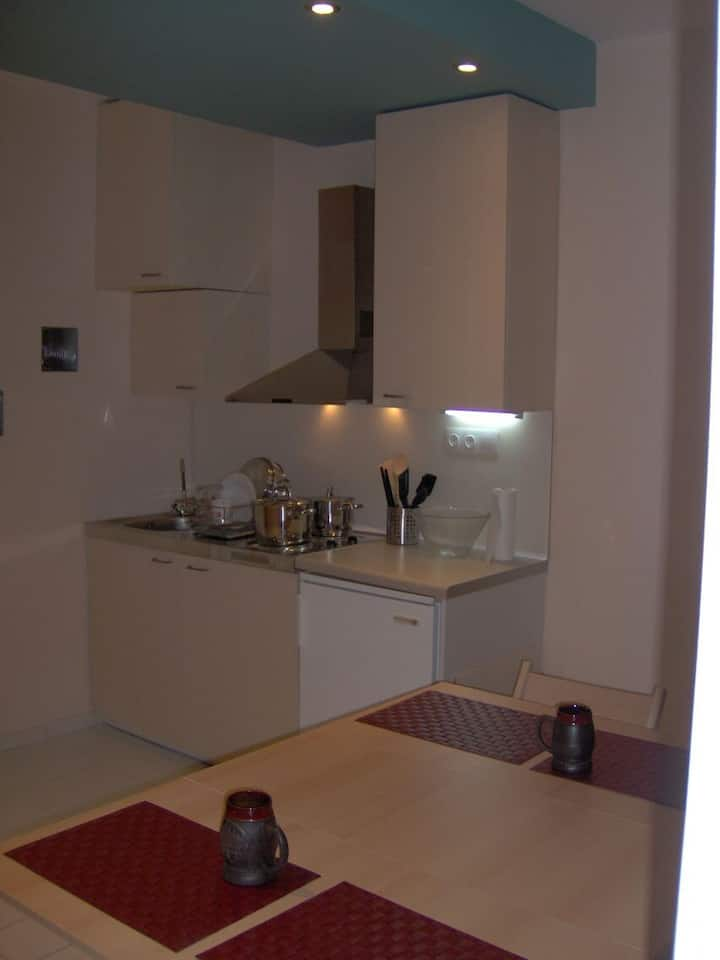 Cosy studio flat 5km from downtown