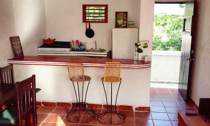 Caribbean apartment, two blocks from El Faro beach - Playa del Carmen - Byt