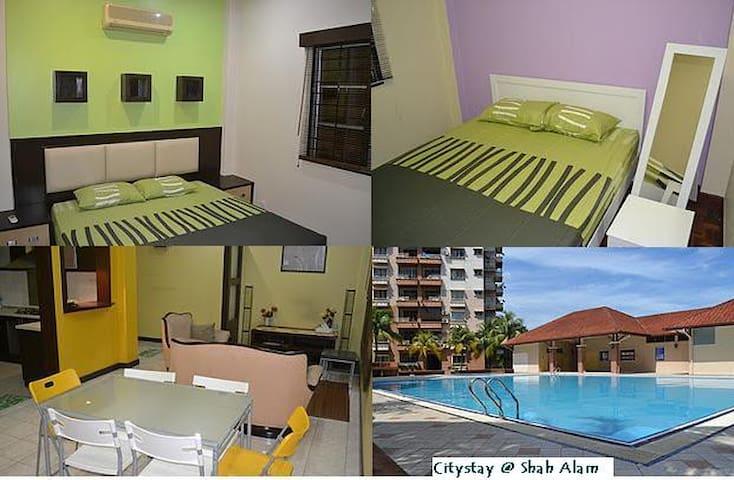 Luxury Stay at Bukit Jelutong - Shah Alam - Condominium