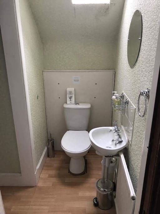 Shared shower room for Single and Triple Rooms