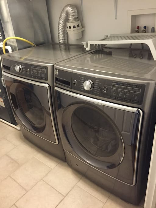 Guest will have access to the laundry room