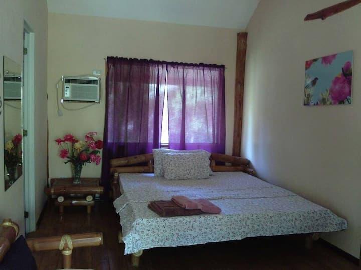 Matrimonial Room in a Log Home Beach Resort