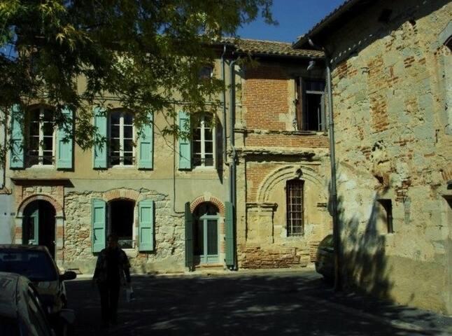 Charmante maison au cœur d'un village médiéval