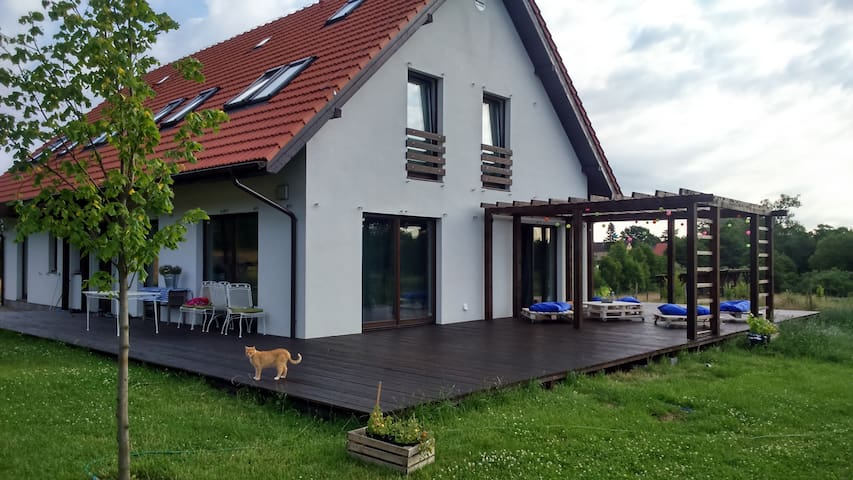 BnB near seaside, Charnowo, Ustka - Ustka - House