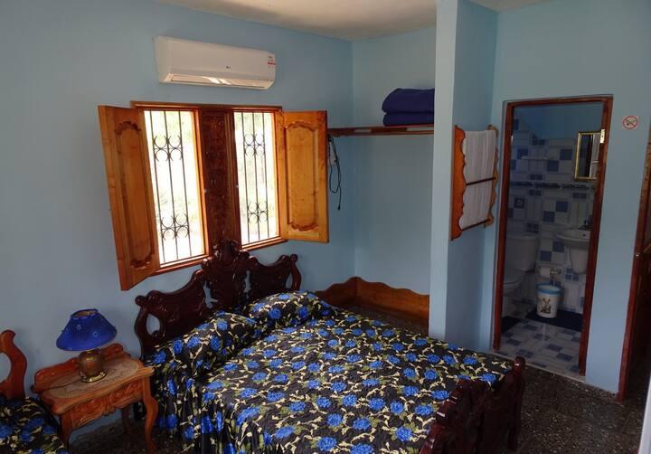 Hostal La Colonial, el paraíso de Soroa (Blue)
