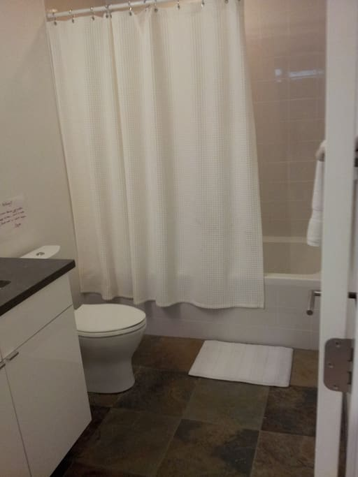 Guest private bathroom with jacuzzi tub