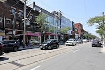 Located in the Heart of Toronto's Most Desired Area - QUEEN STREET WEST