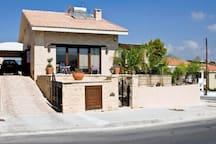 whole villa view