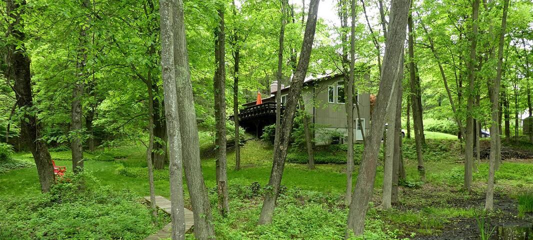 Restful Treehouse near Rhinebeck NY