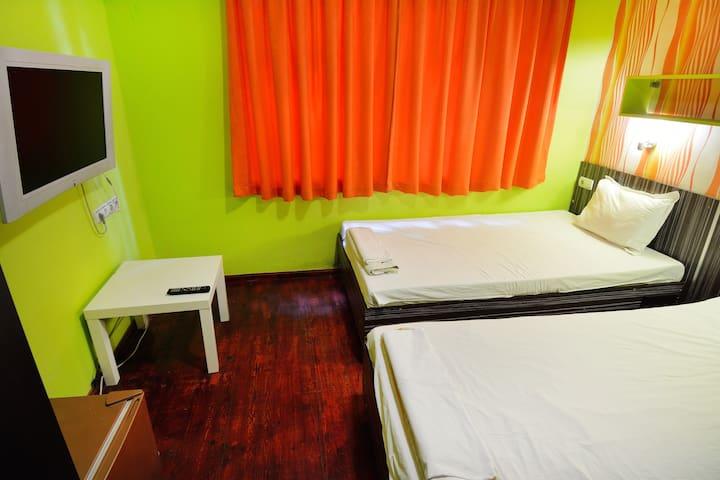 Двойна делукс стая с 2 отделни легла