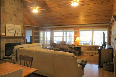 Cabin with easy access and WiFi