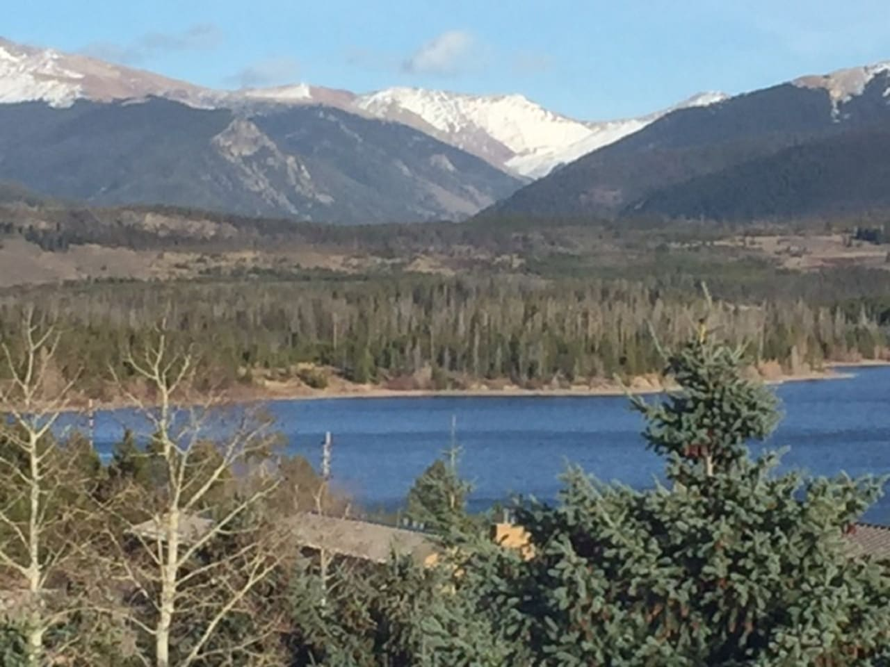 Best View in Frisco of Lake Dillon from Deck-Lake Dillon