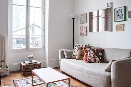 Beautiful and bright apartment - París - Departamento