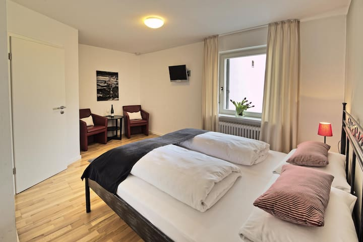 Double room-Ensuite-River view-Doppelzimmer