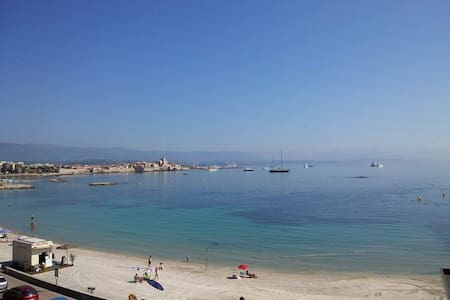CAPTAIN 'S CABIN ON THE BEACH - Antibes - Apartemen