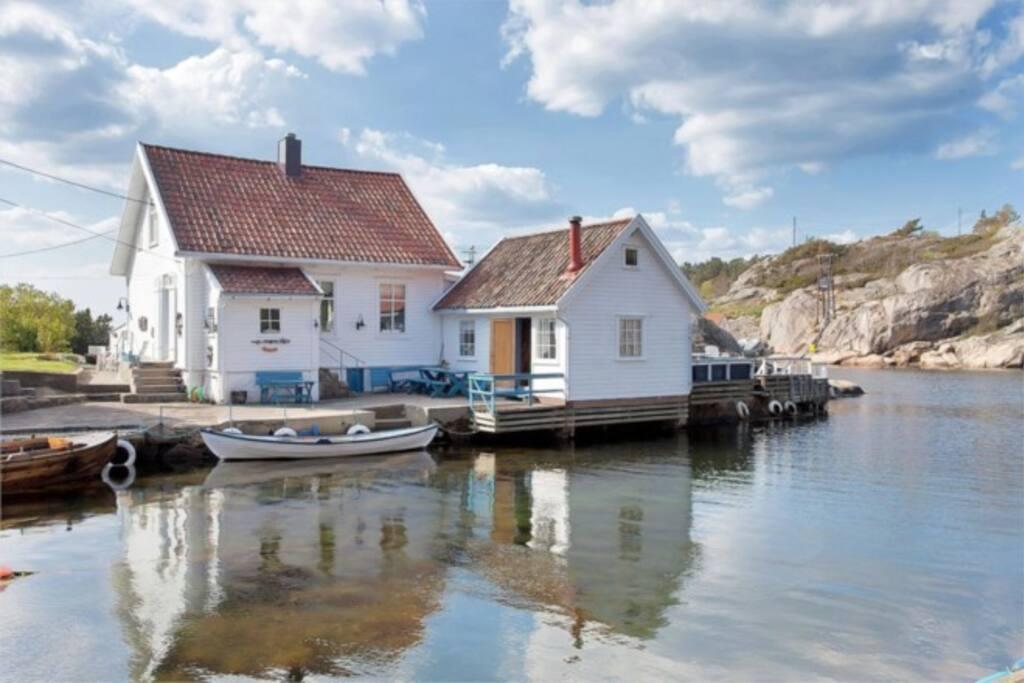 Sørlandshuset sett fra forsiden.