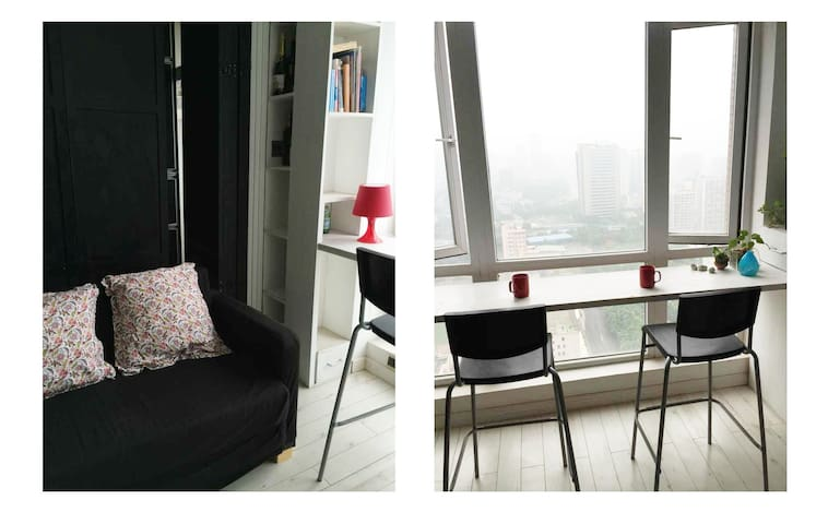 Sun drenched cozy home - Chongqing - Appartement