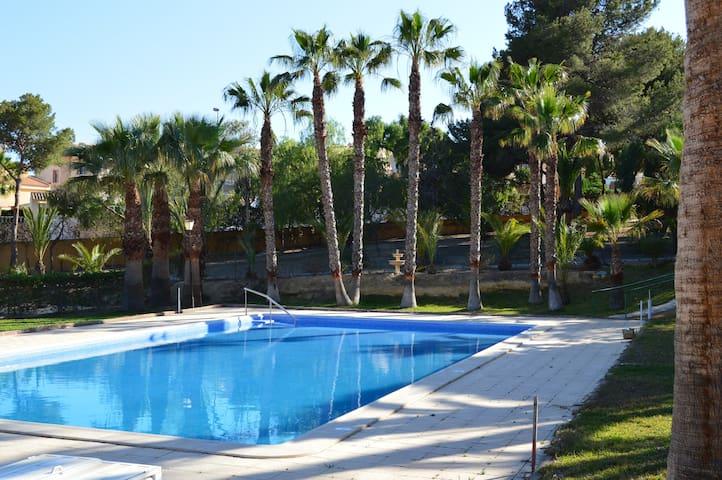 Casa de Playa con piscina