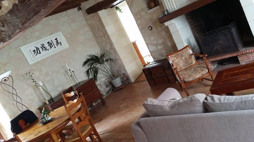 Maison charmante vallée de la Loire - Le Puy-Notre-Dame - House